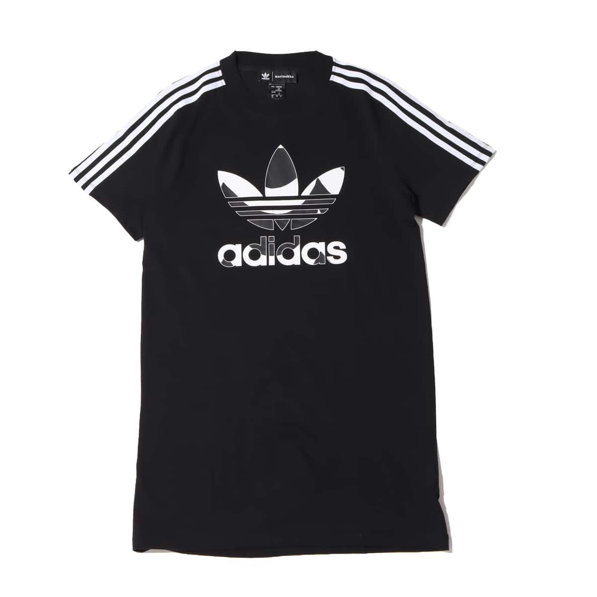 adidas Marimekko TEE DRESS BLACK 21FW-I_photo_large