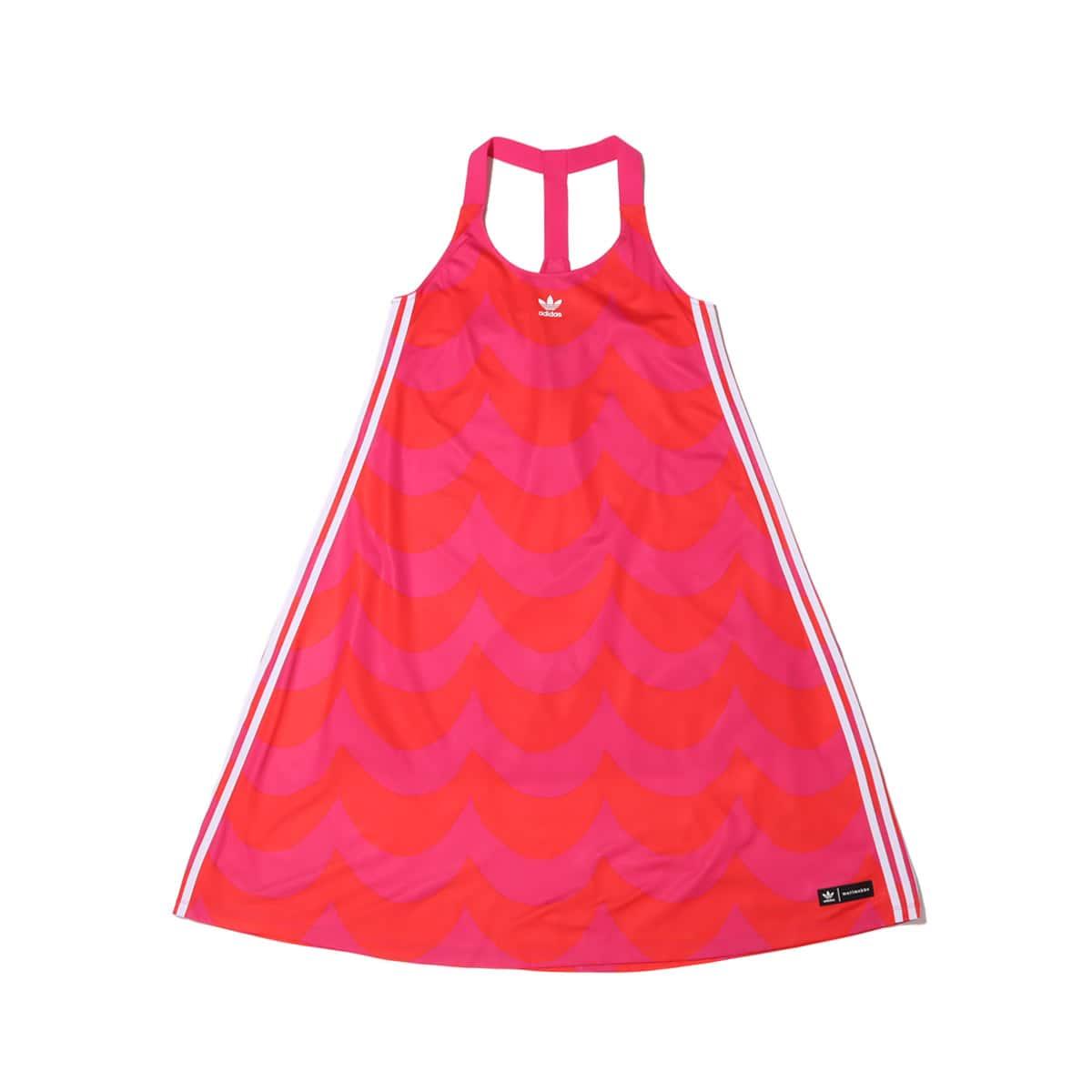 adidas Marimekko TANK DRESS VIVID RED/TEAM REAL MAGENTA 21FW-S_photo_large