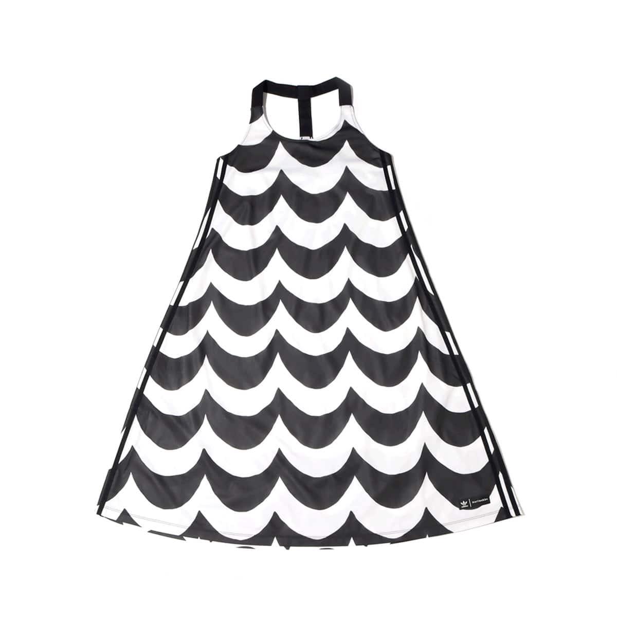 adidas Marimekko TANK DRESS BLACK/WHITE 21FW-I_photo_large