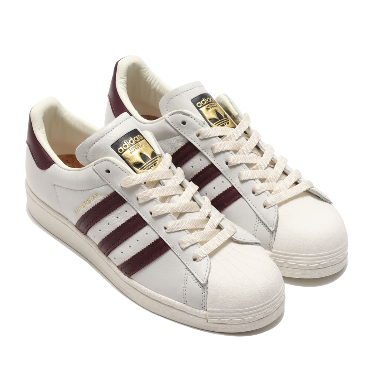 adidas SUPERSTAR OFF WHITE/MAROON/OFF WHITE 21SS-I_photo_large
