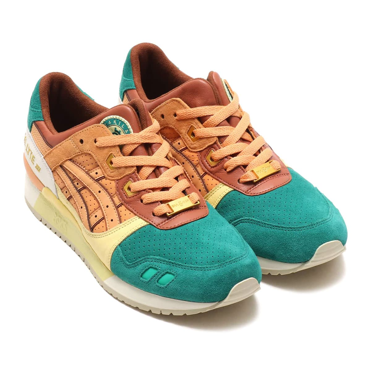 ASICSTIGER GEL-LYTE III 24Kilates  BROWN/GREEN_photo_large