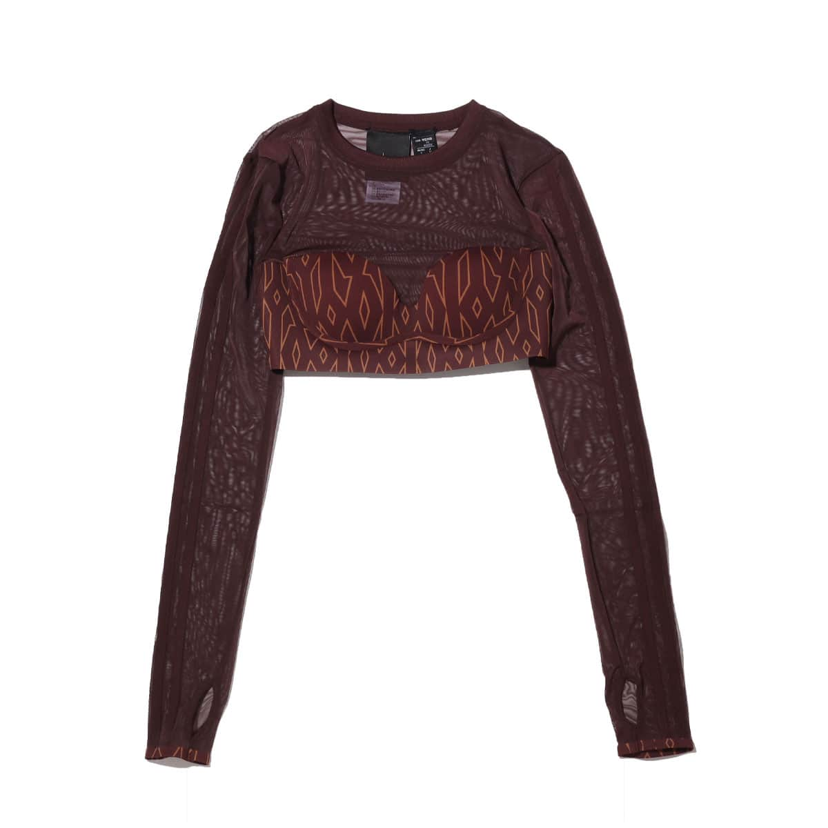 adidas IVP MNGM CROP NIGHT RED/WILD BROWN 21SS-S_photo_large