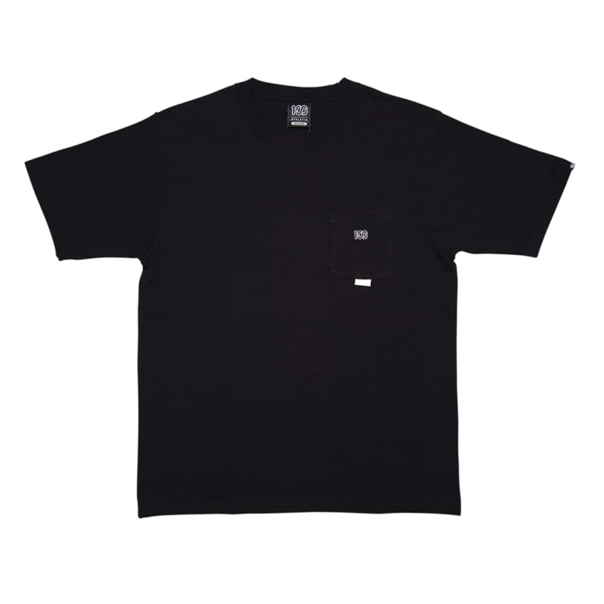100A THICK JERSEY S/S TOP with pocket BLACK 20FA-I_photo_large