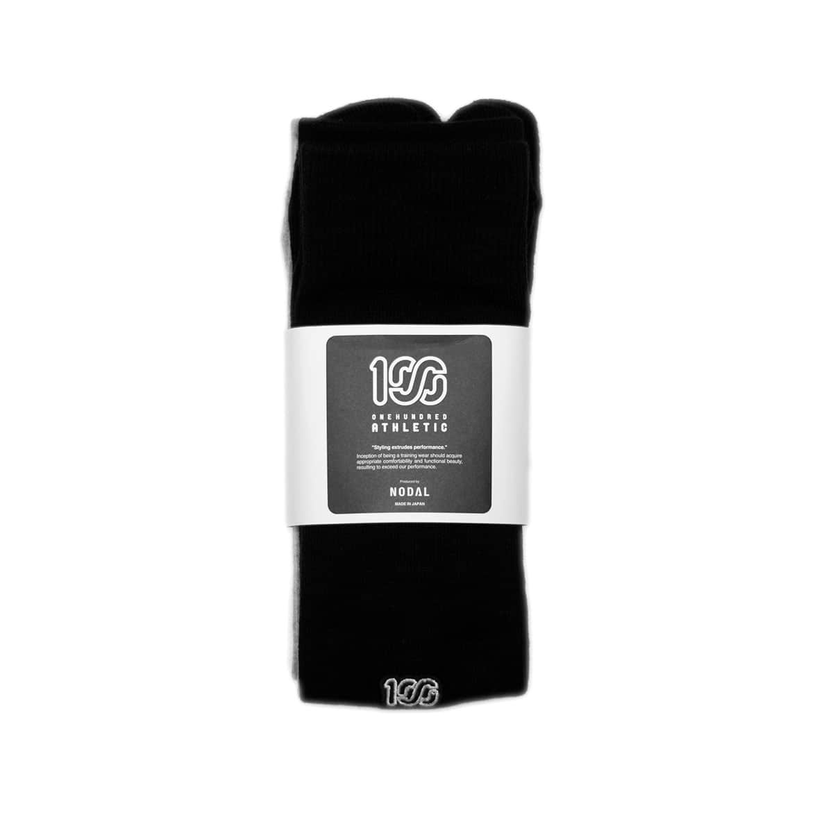 100A x NODAL SOCKS SET BLACK/TOP GREY 20SU-I_photo_large
