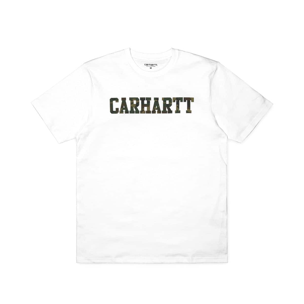 CARHARTT S/S COLLEGE T-SHIRT White/Camo 18FW-I_photo_large