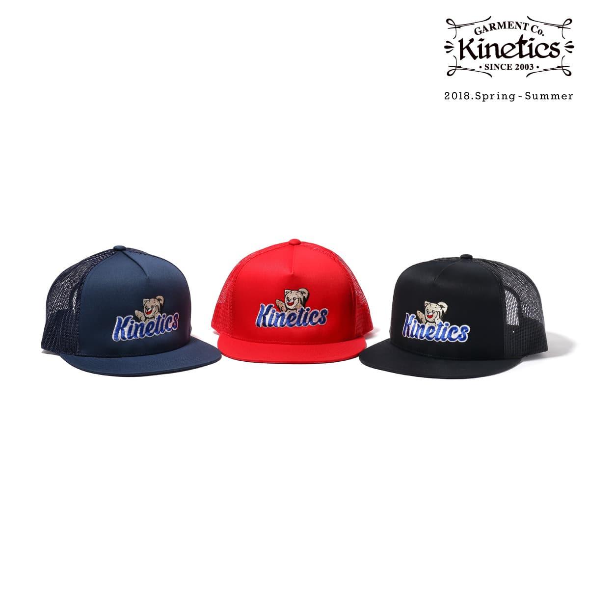 Kinetics WASH SOMEONE AWAY Trucker Cap  3色展開 18SS-I_photo_large