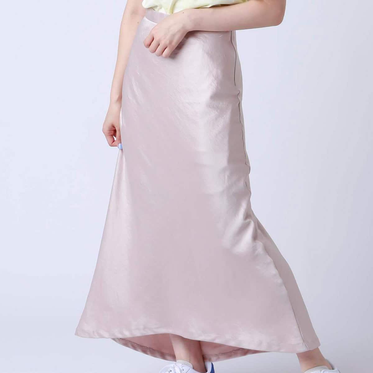 atmos pink 無地サテン スカート PINK 19SP-I_photo_large
