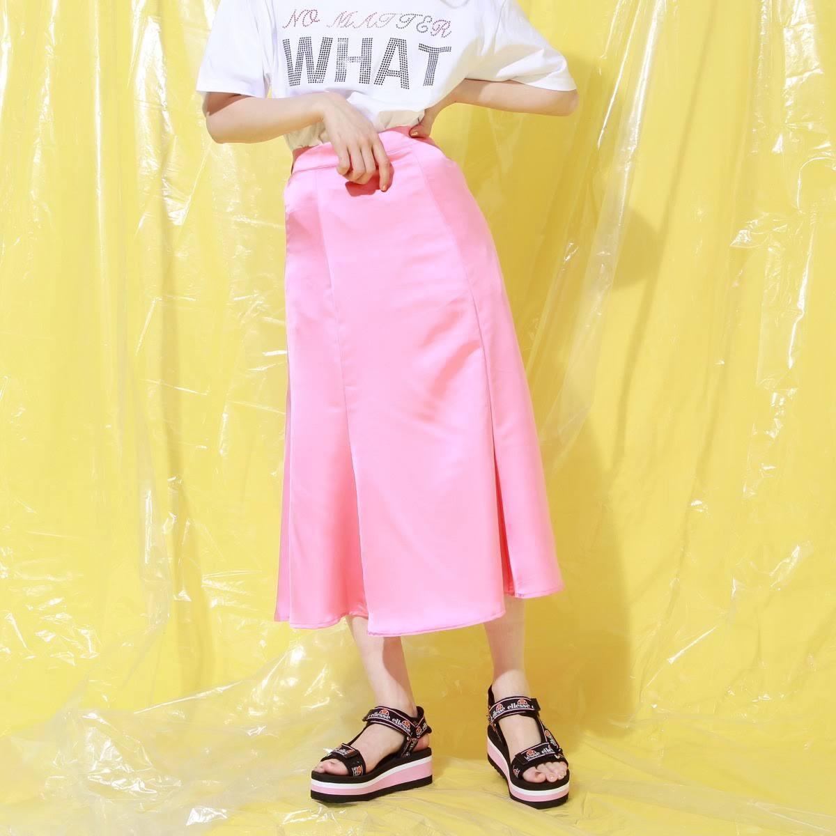 atmos pink サテン マーメイドスカート TX PINK 19SU-I_photo_large