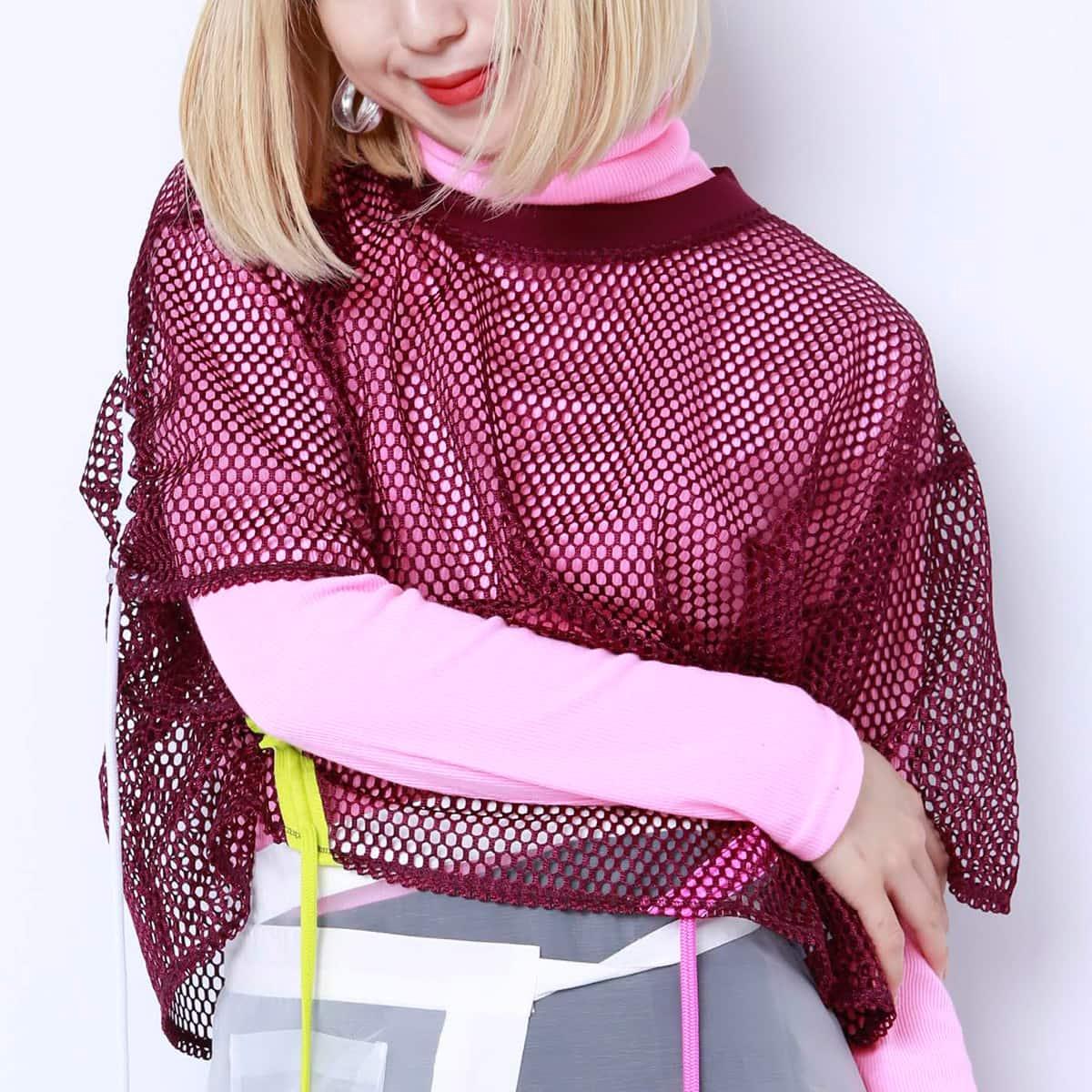 atmos pink カラフル タートルネック PINK 19SP-I_photo_large