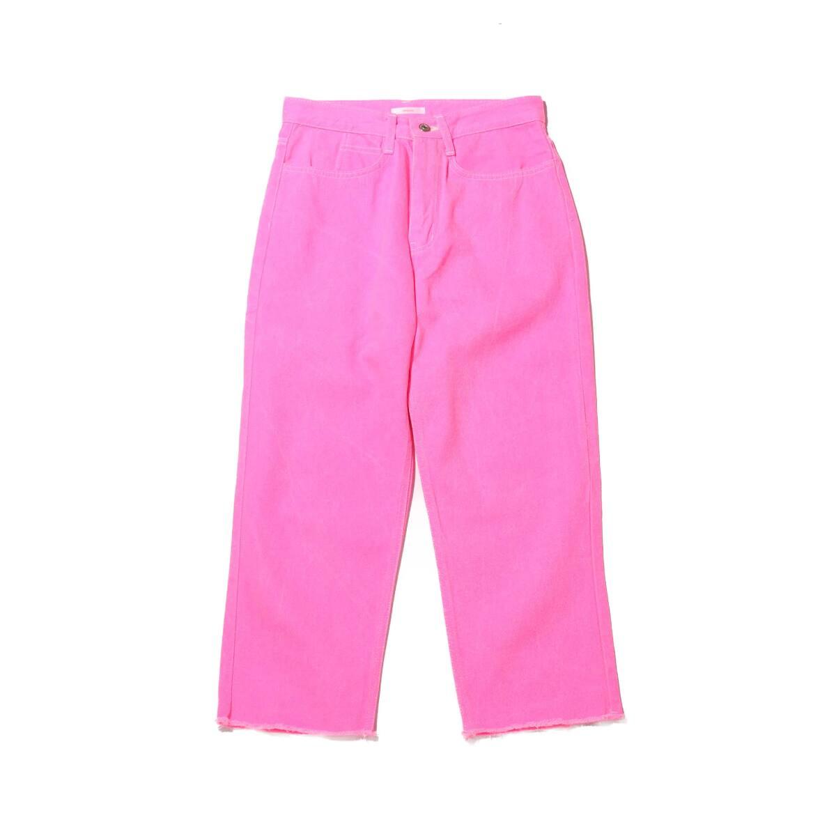 atmos pink ビビットカラー デニムパンツ PINK 20SP-I_photo_large