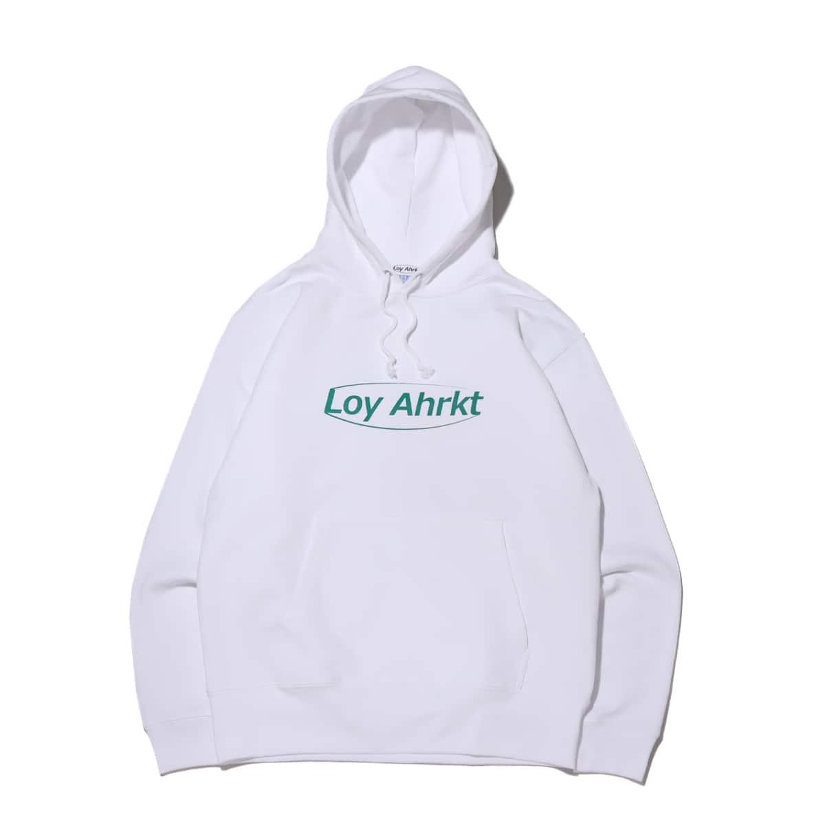 Loy Ahrkt Basic Logo Hood ホワイト 21SP-I_photo_large