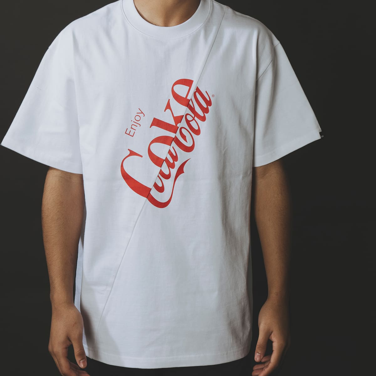 COCA-COLA atmos SWITCH GRAPHIC TEE WHITE 21SP-I_photo_large