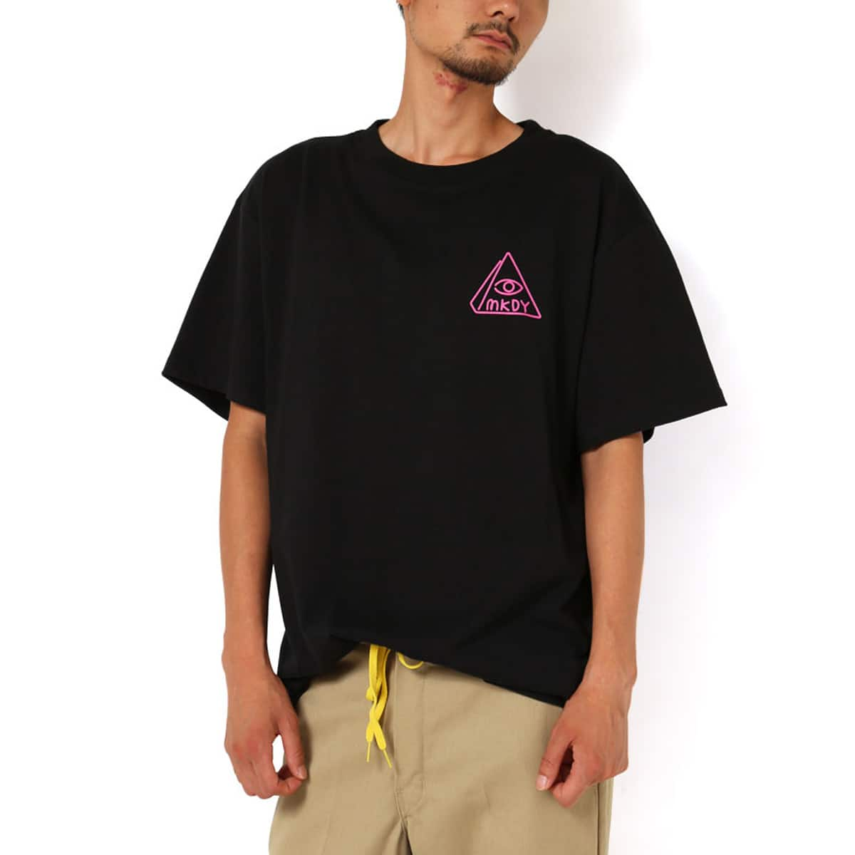 MACKDADDY CALL NOW S/S TEE  BLACK_photo_large