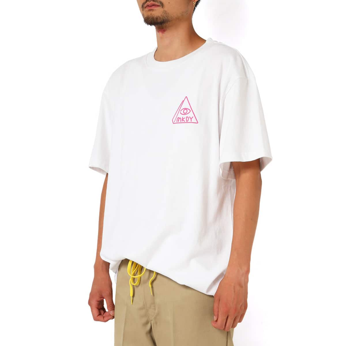 MACKDADDY CALL NOW S/S TEE  WHITE_photo_large