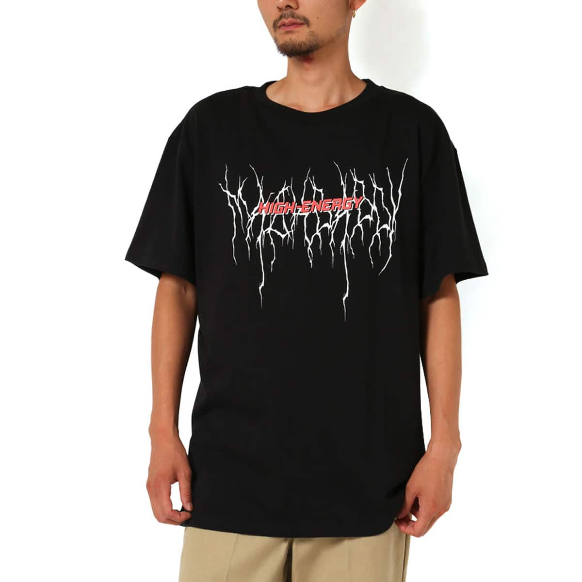 MACKDADDY HIGH-ENERGY S/S TEE  BLACK_photo_large