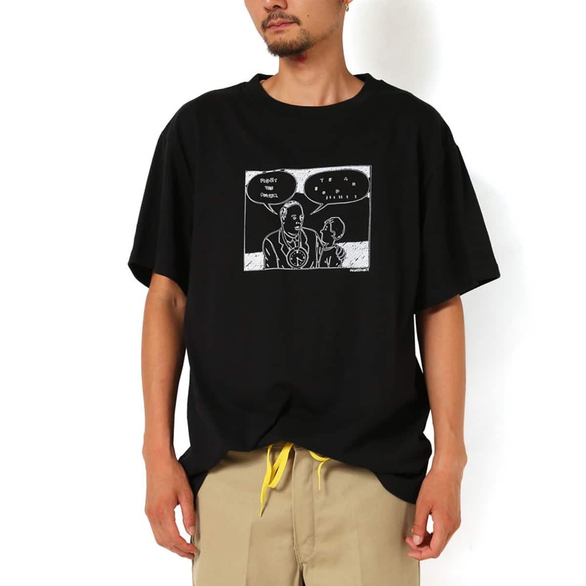 MACKDADDY year booiii S/S TEE  BLACK_photo_large