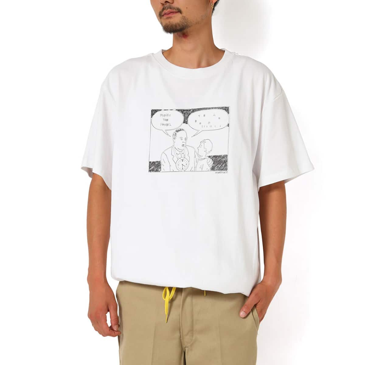 MACKDADDY year booiii S/S TEE  WHITE_photo_large
