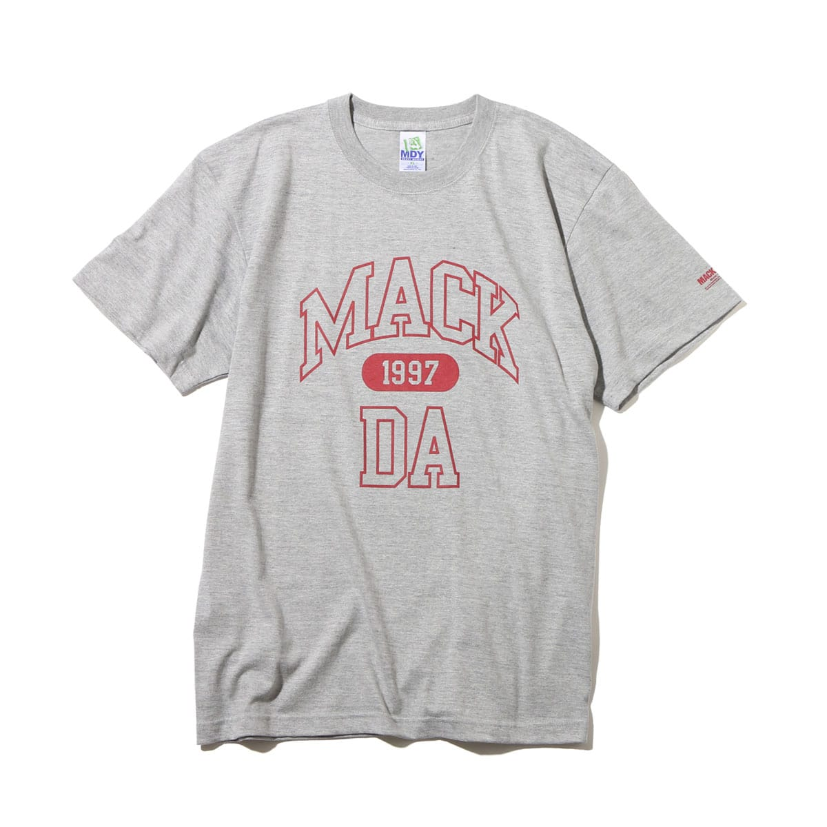 MACKDADDY MACK DA S/S TEE  HEATHER GREY_photo_large