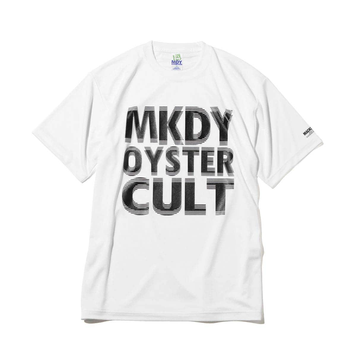 MACKDADDY MKDY OYSTER CULT S/S DRY TEE  WHITE_photo_large