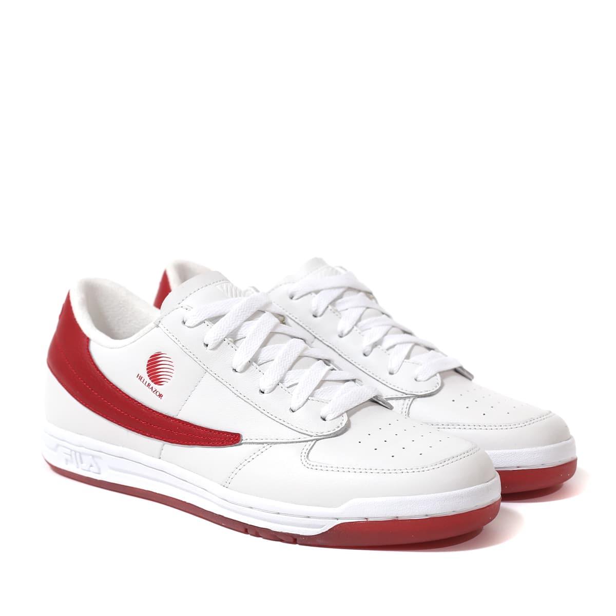 FILA Original Tennis X Hellrazor WHITE/RED 21SS-I_photo_large