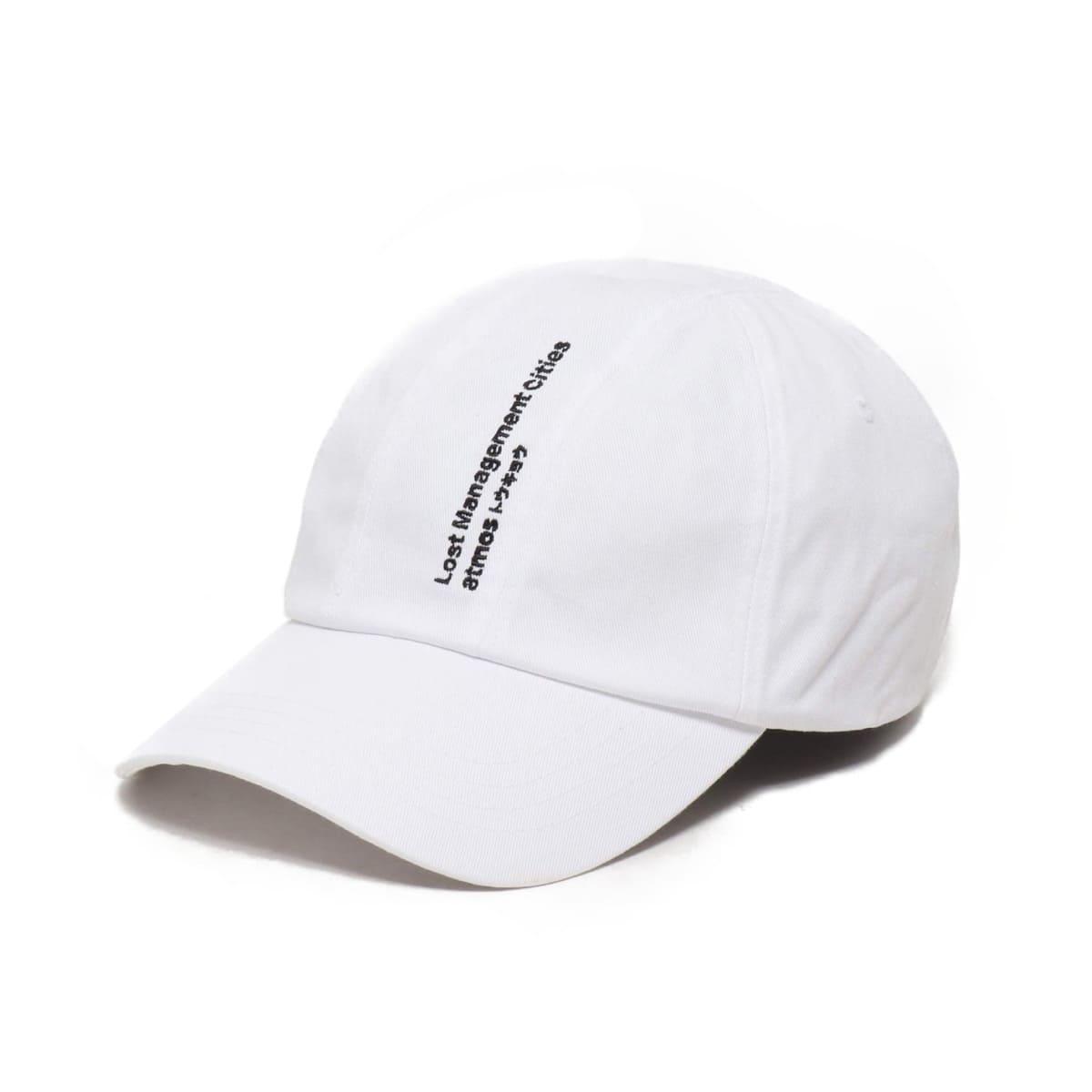 LMC x ATMOS FN 7 PANEL BALL CAP  WHITE 18FW-S_photo_large