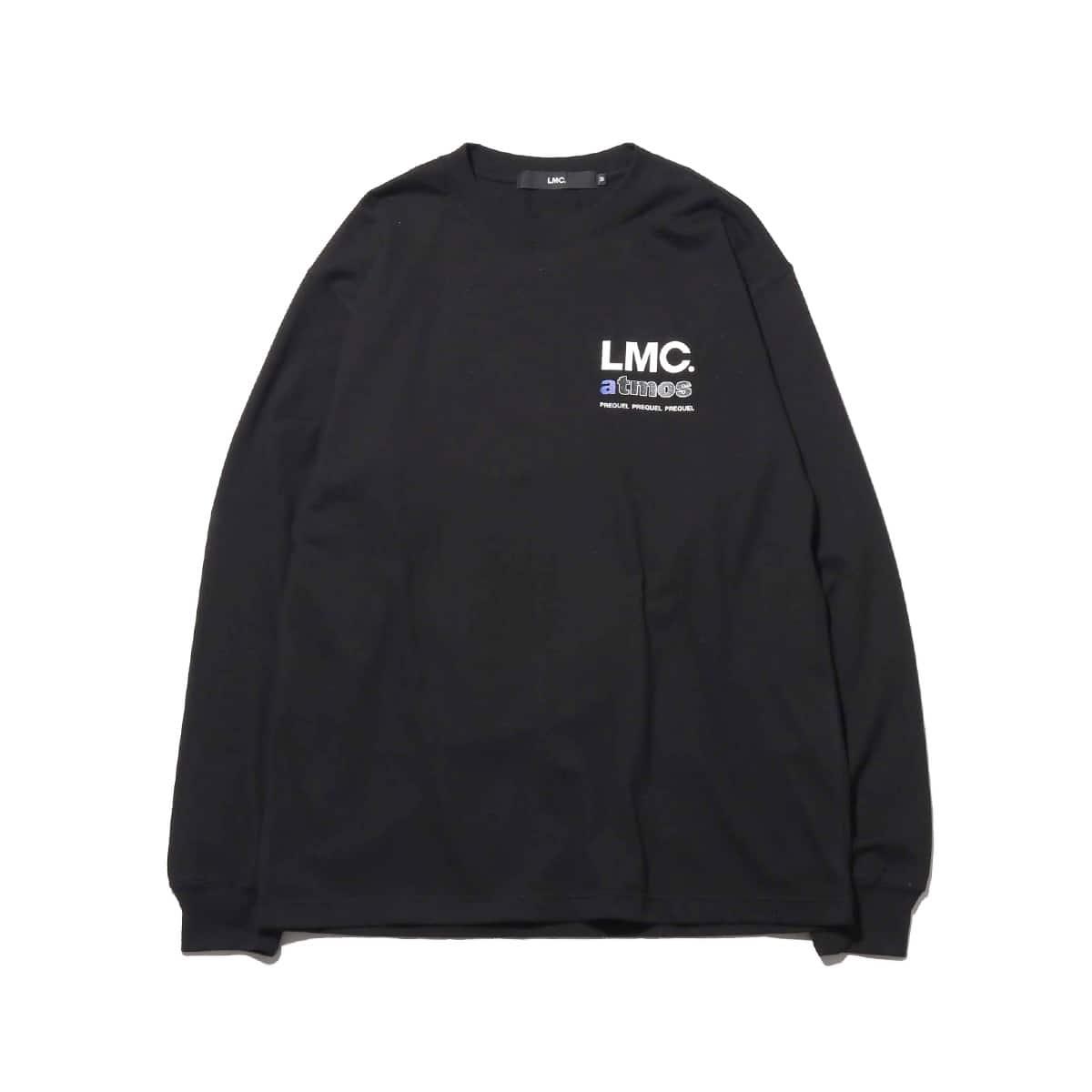 LMC x ATMOS PREQUEL LONG SLV TEE  BLACK 18FW-S_photo_large