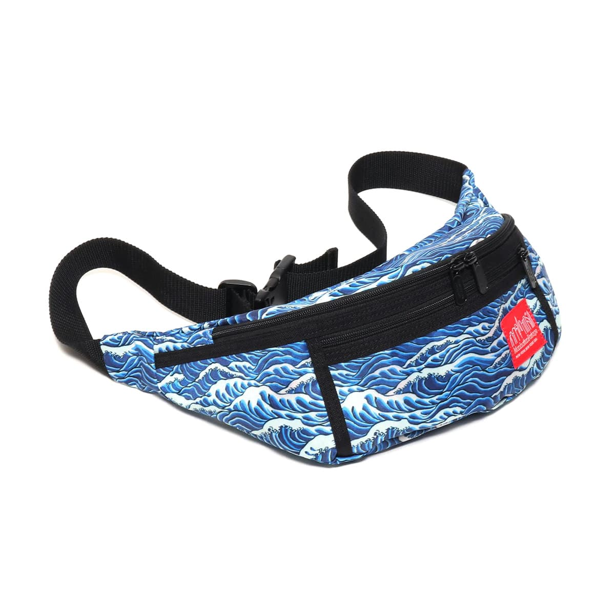 ATMOS LAB Manhattan Portage x T.T.T. x ATMOS LAB Alleycat Waist Bag  BLACK_photo_large