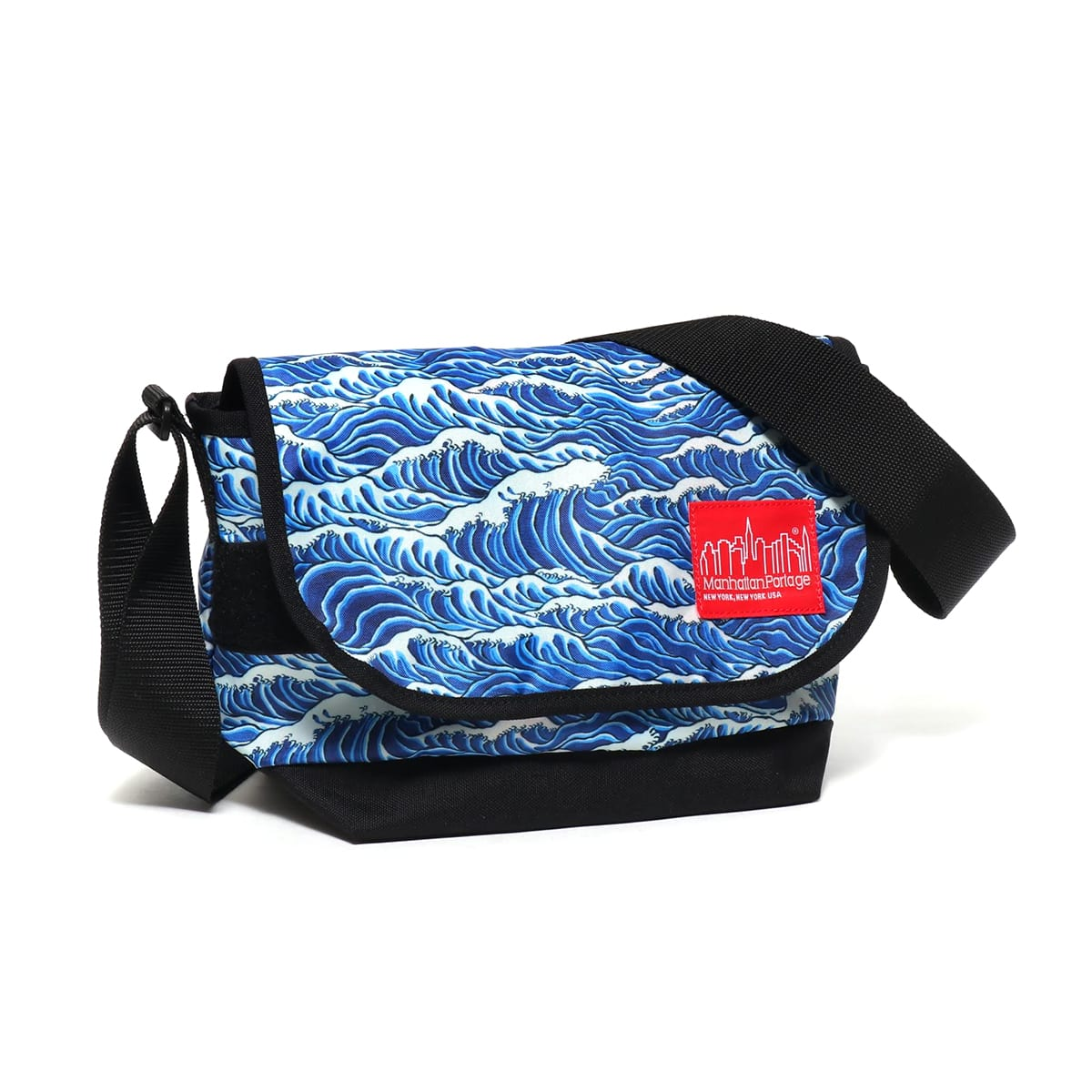 ATMOS LAB Manhattan Portage x T.T.T. x ATMOS LAB Messenger Bag  BLACK_photo_large