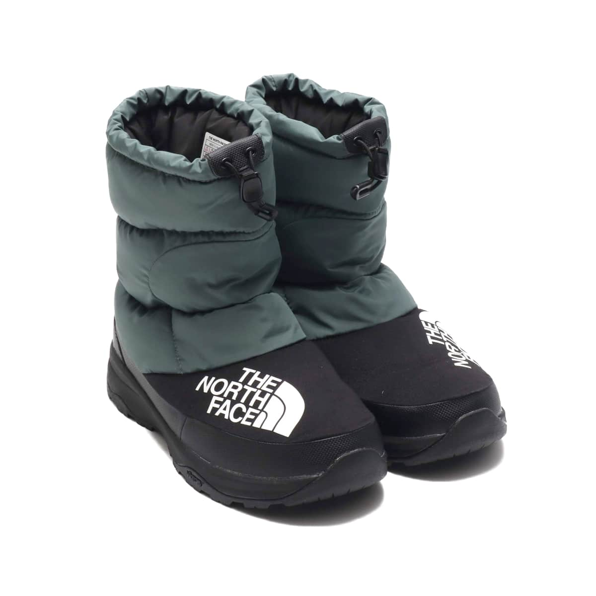 THE NORTH FACE NUPTSE DOWN BOOTIE ジャングルグリーン/ブラック 19FW-I_photo_large