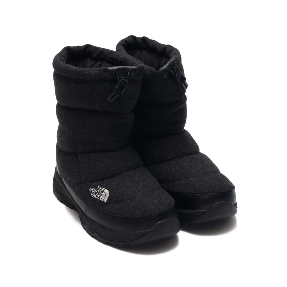 THE NORTH FACE NUPTSE BOOTIE WOOL チャコール 19FW-I_photo_large