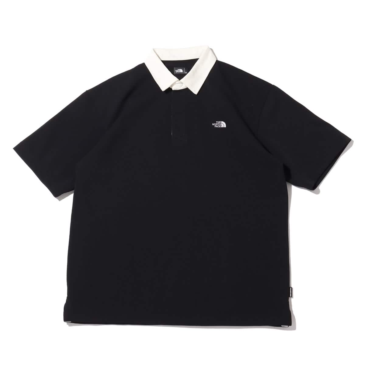 THE NORTH FACE S/S RUGBY POLO BLACK 21SS-I_photo_large