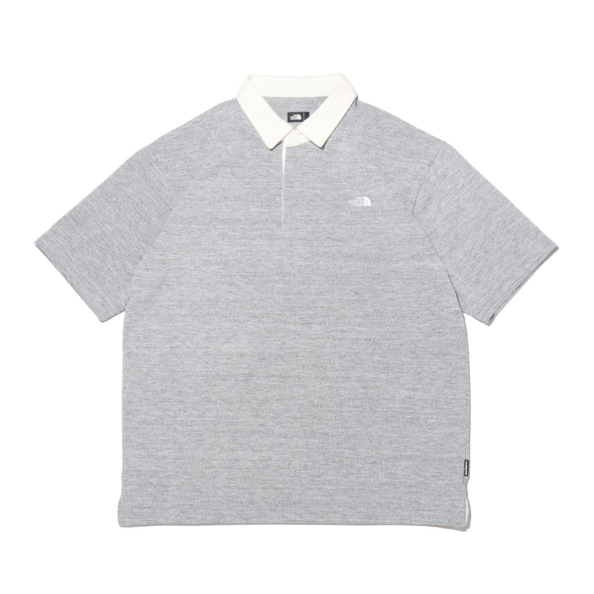 THE NORTH FACE S/S RUGBY POLO MIX GRAY 21SS-I_photo_large