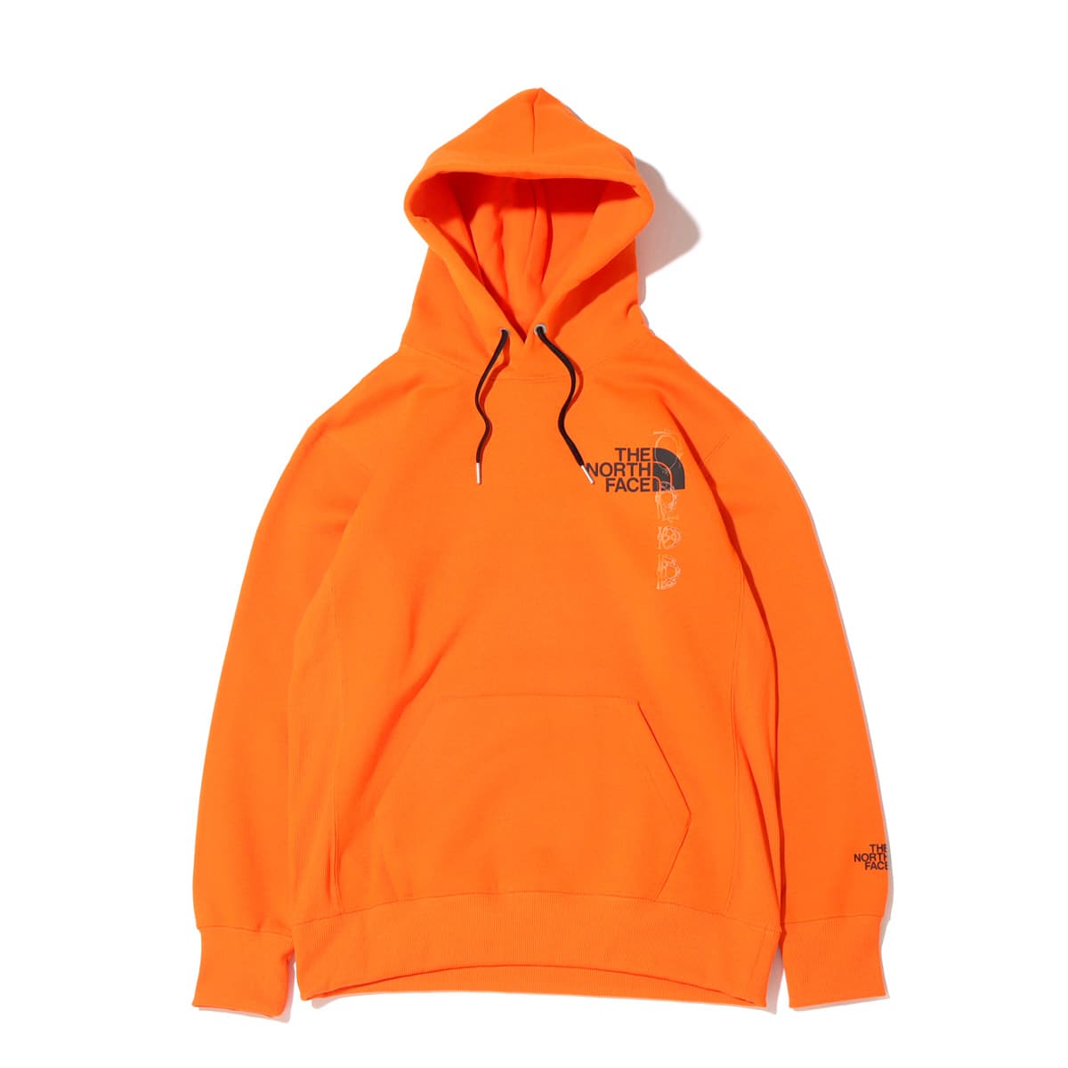 THE NORTH FACE BACK HALF DOME HOODIE レッドオレンジ 21FW-I_photo_large
