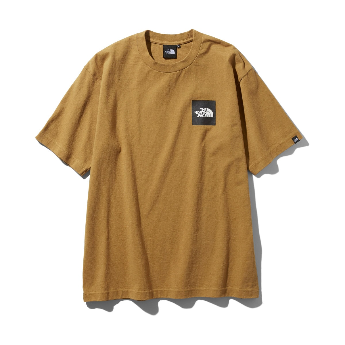 THE NORTH FACE S/S SQUARE LOGO TEE ブリティッシュカーキ 19FW-I_photo_large