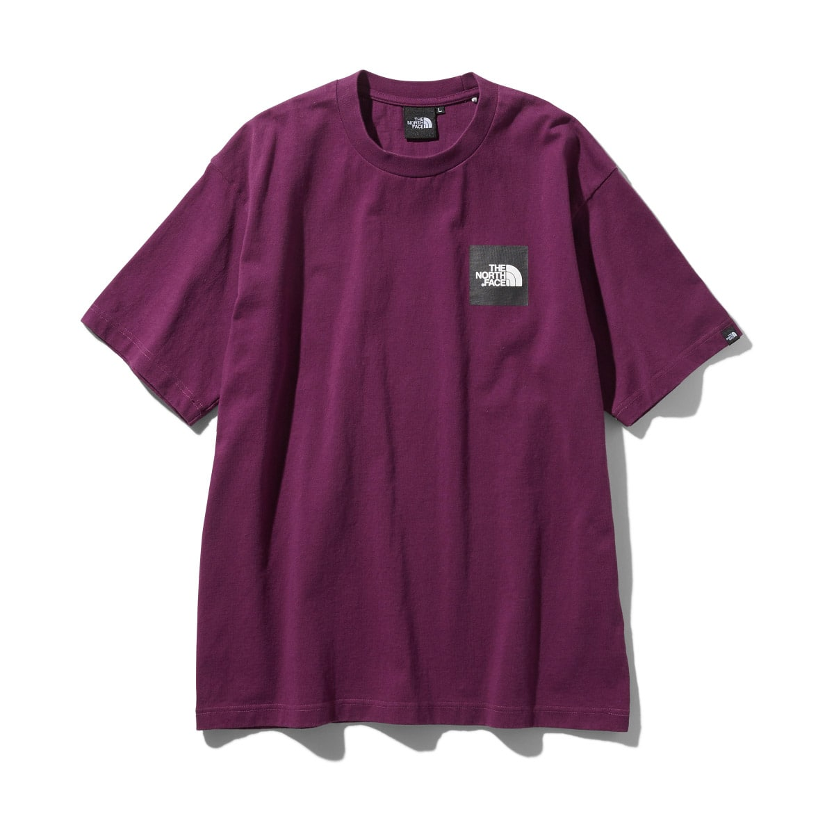 THE NORTH FACE S/S SQUARE LOGO TEE パンプロナパープル 19FW-I_photo_large
