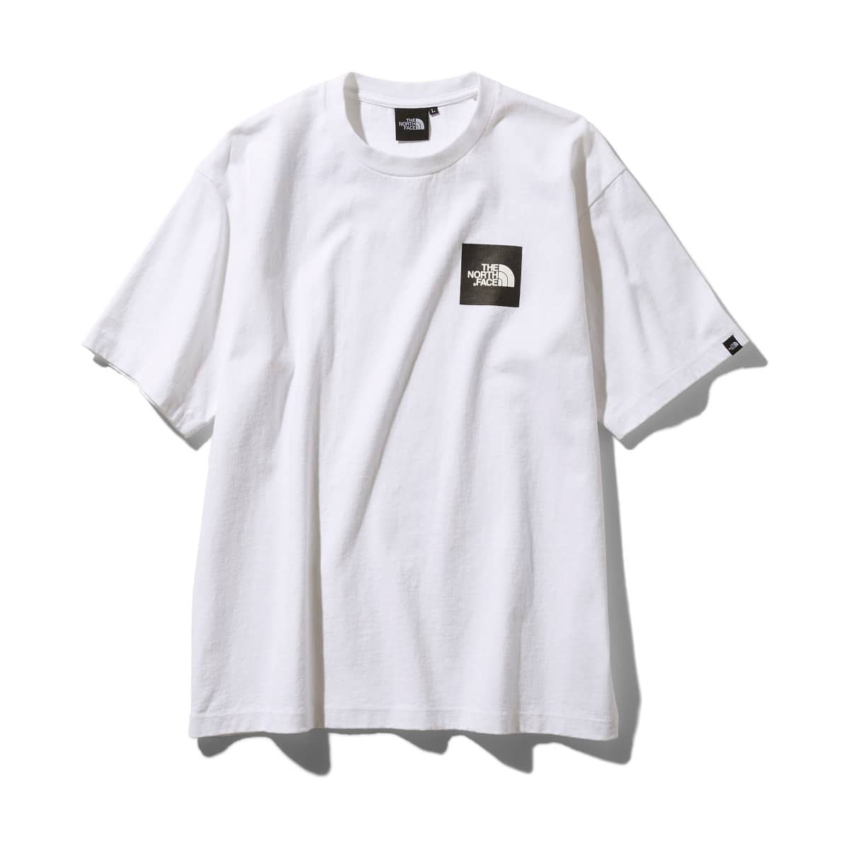THE NORTH FACE S/S SQUARE LOGO TEE ホワイト 19FW-I_photo_large