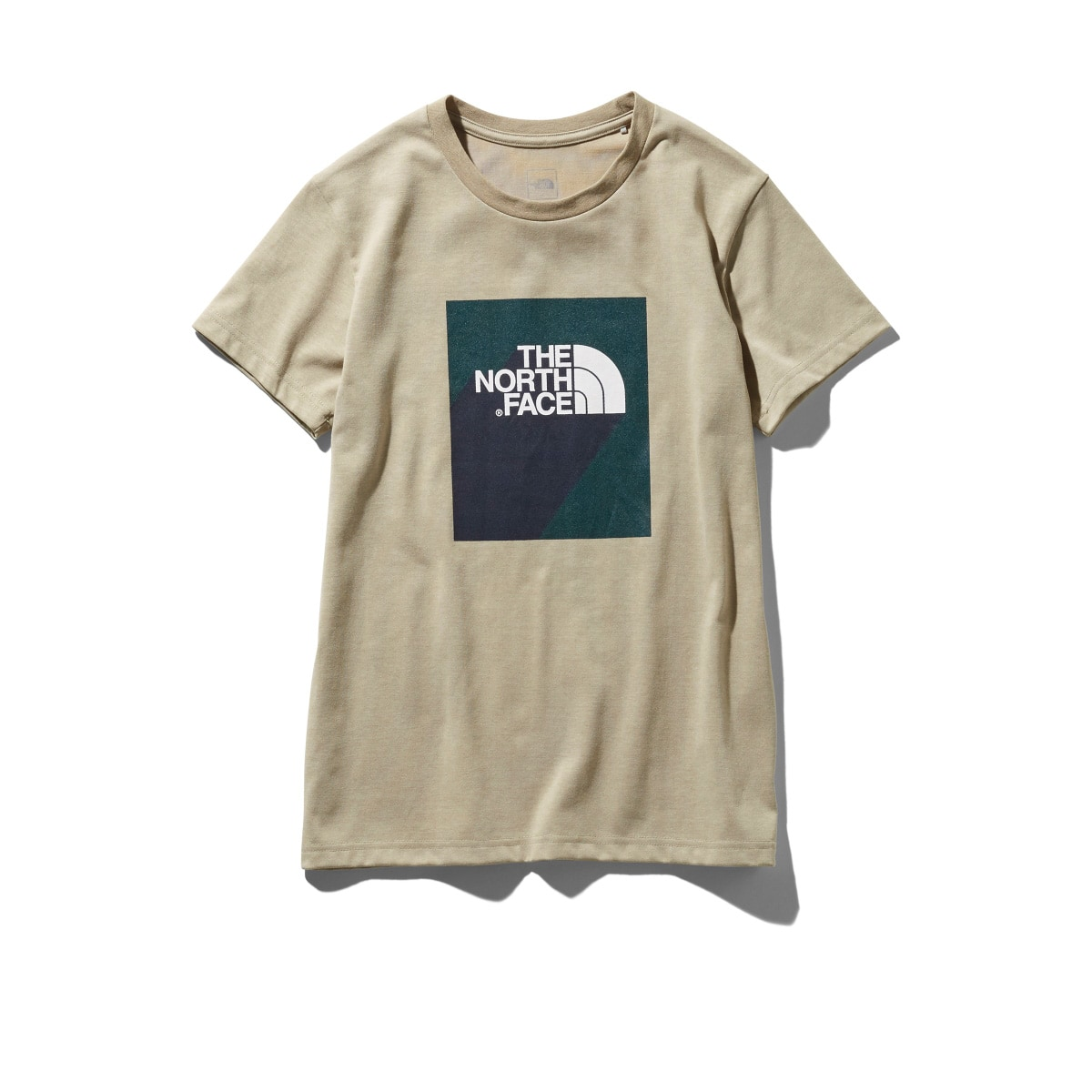 THE NORTH FACE S/S 3D LOGO TEE  ツイルベージュ 19SS-I_photo_large