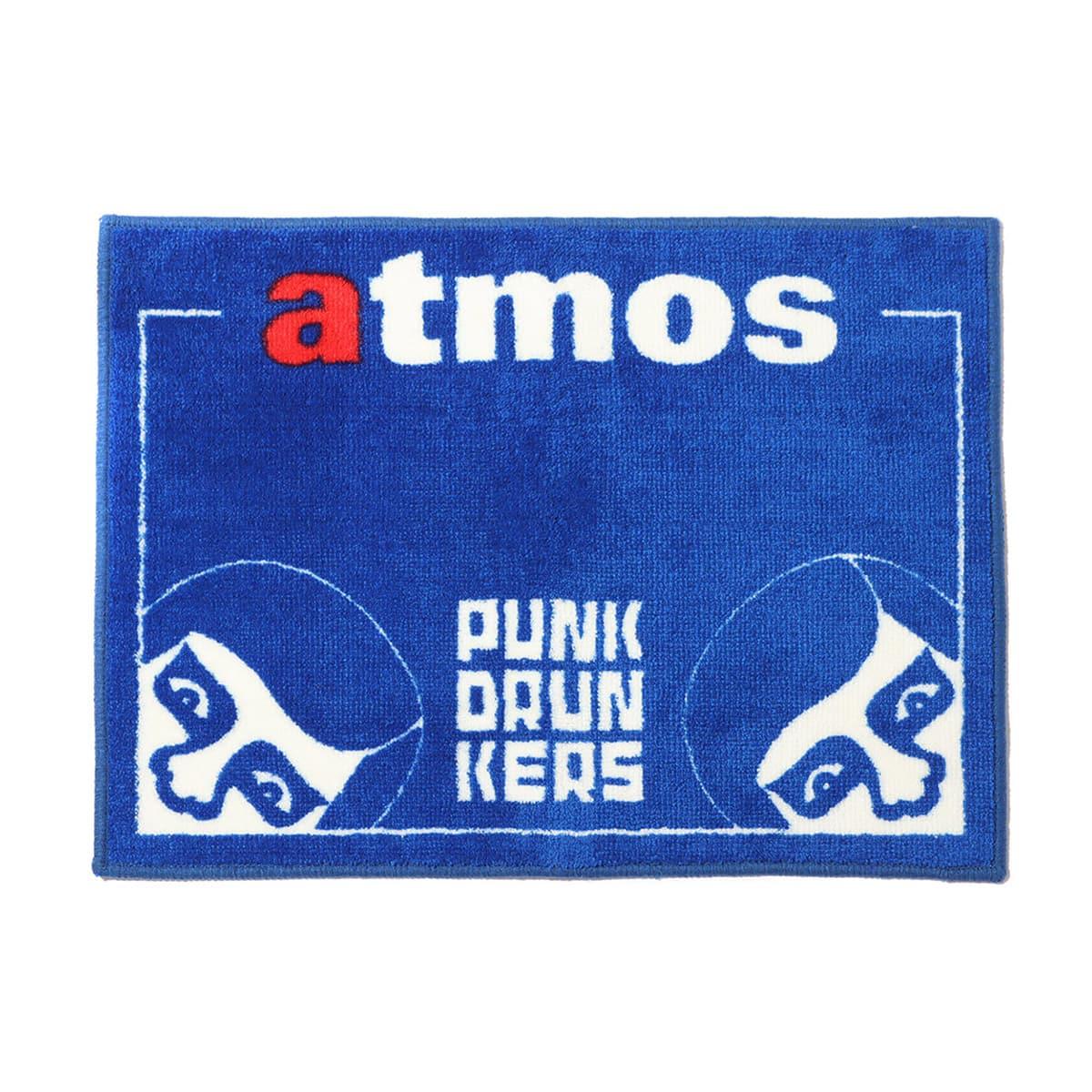 PUNK DRUNKERS × atmos あいつFLOOR MAT BLUE 21FA-I_photo_large