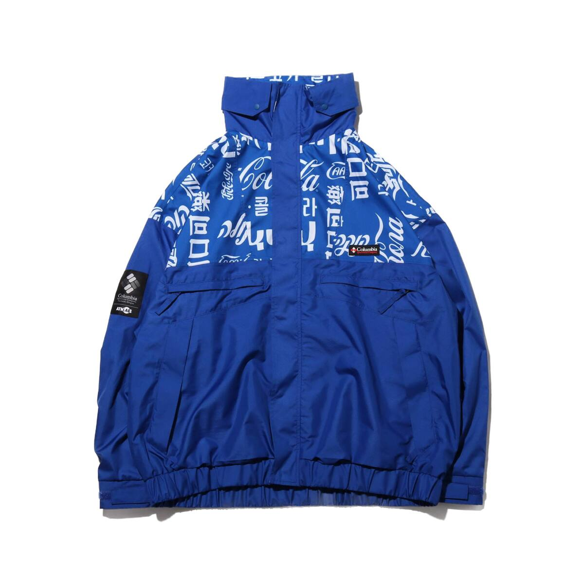 COCA-COLA x Columbia x ATMOS LAB WOLF ROAD TXT JACKET AZUL 20SP-S_photo_large