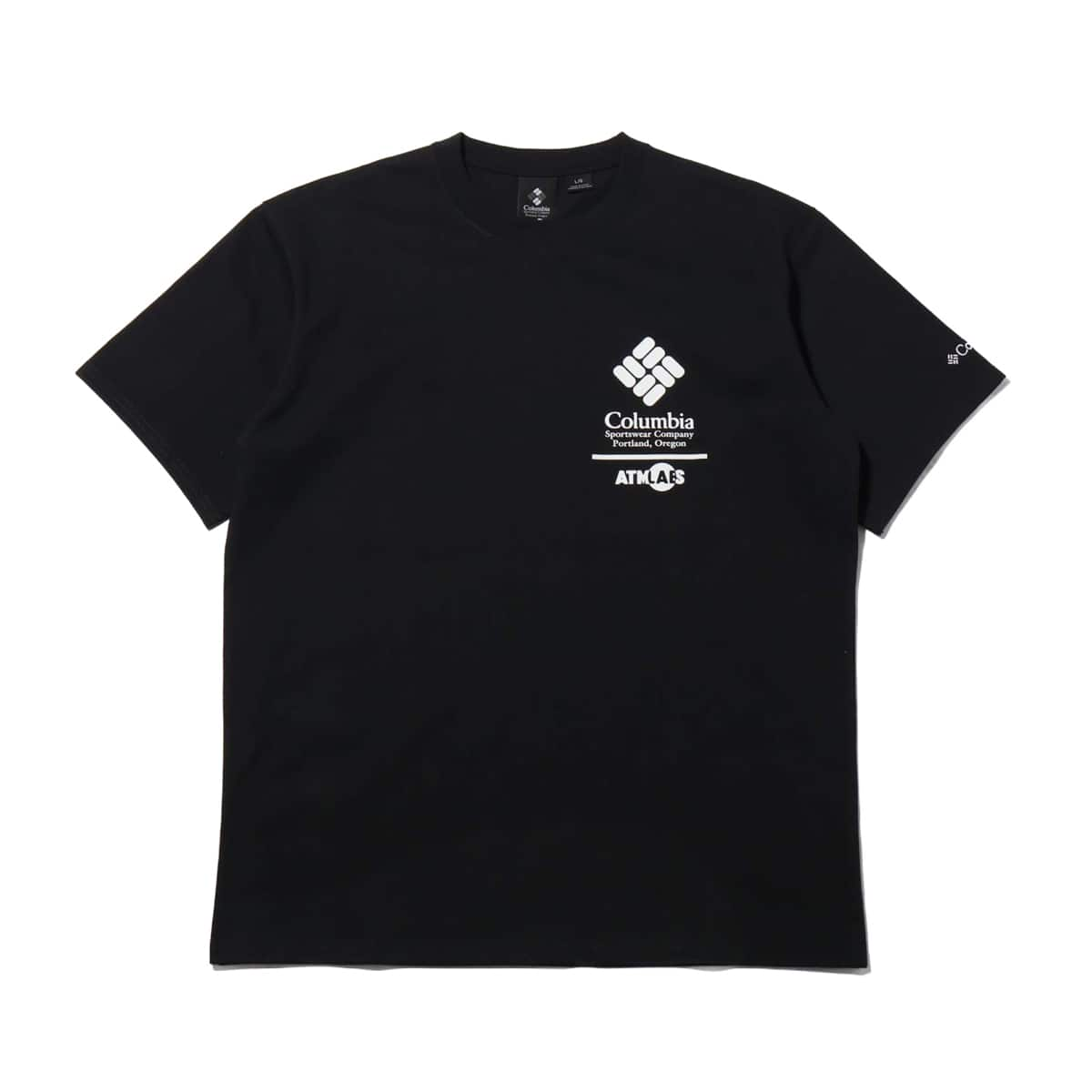 COCA-COLA x Columbia x ATMOS LAB CSC BASIC LOGO TXT SHORT SLEEVE T-SHIRT BLACK 20SP-S_photo_large