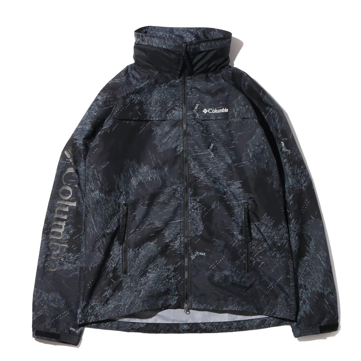 Columbia × ATMOS LAB Sawtooth Jacket  Black Map Print_photo_large