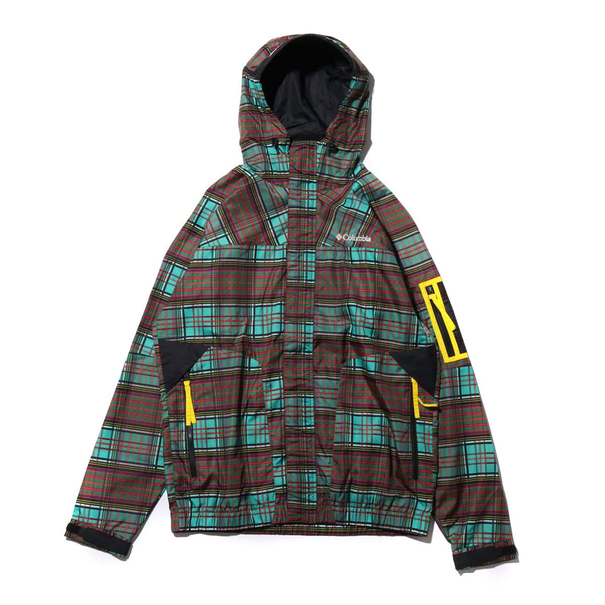 Columbia x ATMOS LAB PAVLOF ROAD TXT JACKET CYBER GREEN 19SS-S_photo_large