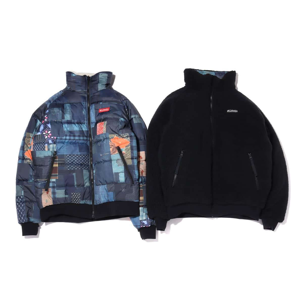 Columbia x ATMOS LAB Powder Keg™ Txt Reversible Fleece Jacket BLACK 20FA-S_photo_large