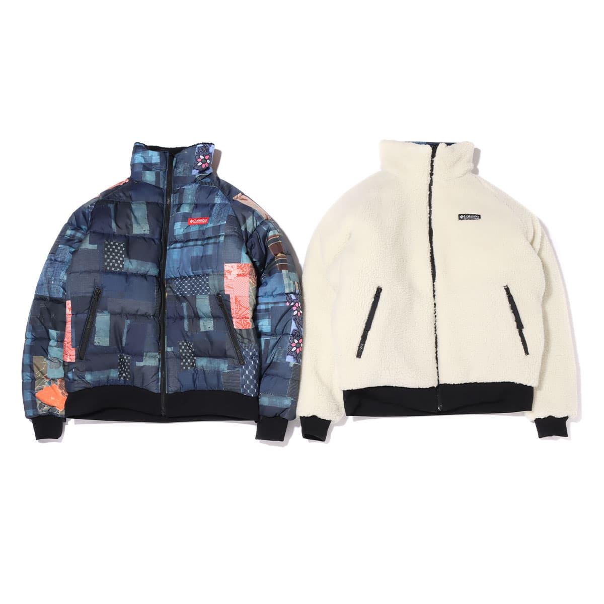 Columbia x ATMOS LAB Powder Keg™ Txt Reversible Fleece Jacket WHITE 20FA-S_photo_large