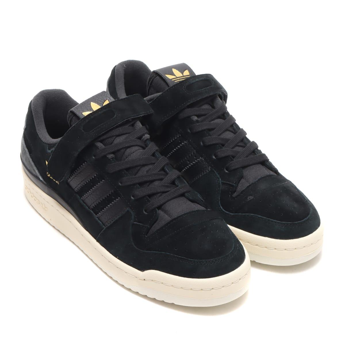 adidas FORUM 84 LOW CORE BLACK/CREAM WHITE/CARBON 21FW-I_photo_large