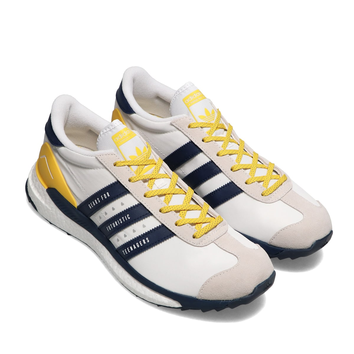 adidas Consortium COUNTRY HM FTWR WHITE/HAZY YELLOW/COLLEGIATE NAVY 21SS-S_photo_large