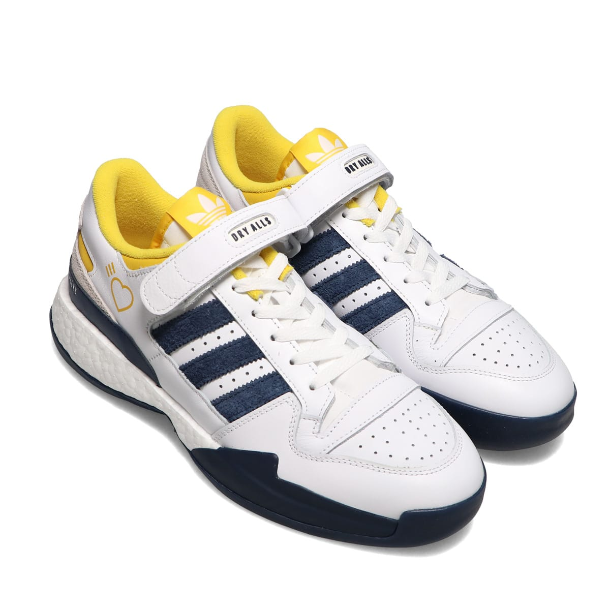 adidas Consortium FORUM L HM FTWR WHITE/HAZY YELLOW/COLLEGIATE NAVY 21SS-S_photo_large