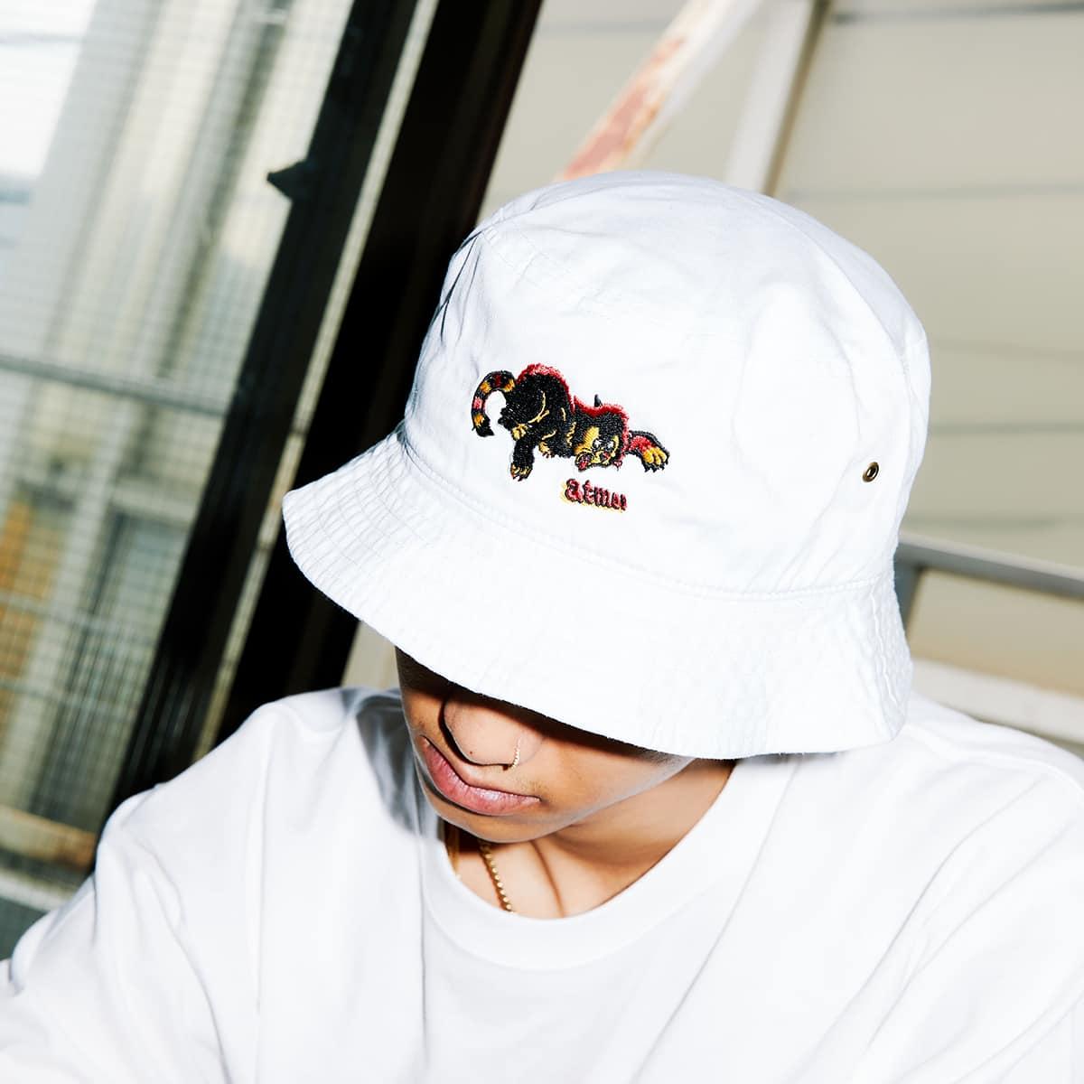atmos x KOUSUKE SHIMIZU HAT WHITE 21SP-I_photo_large