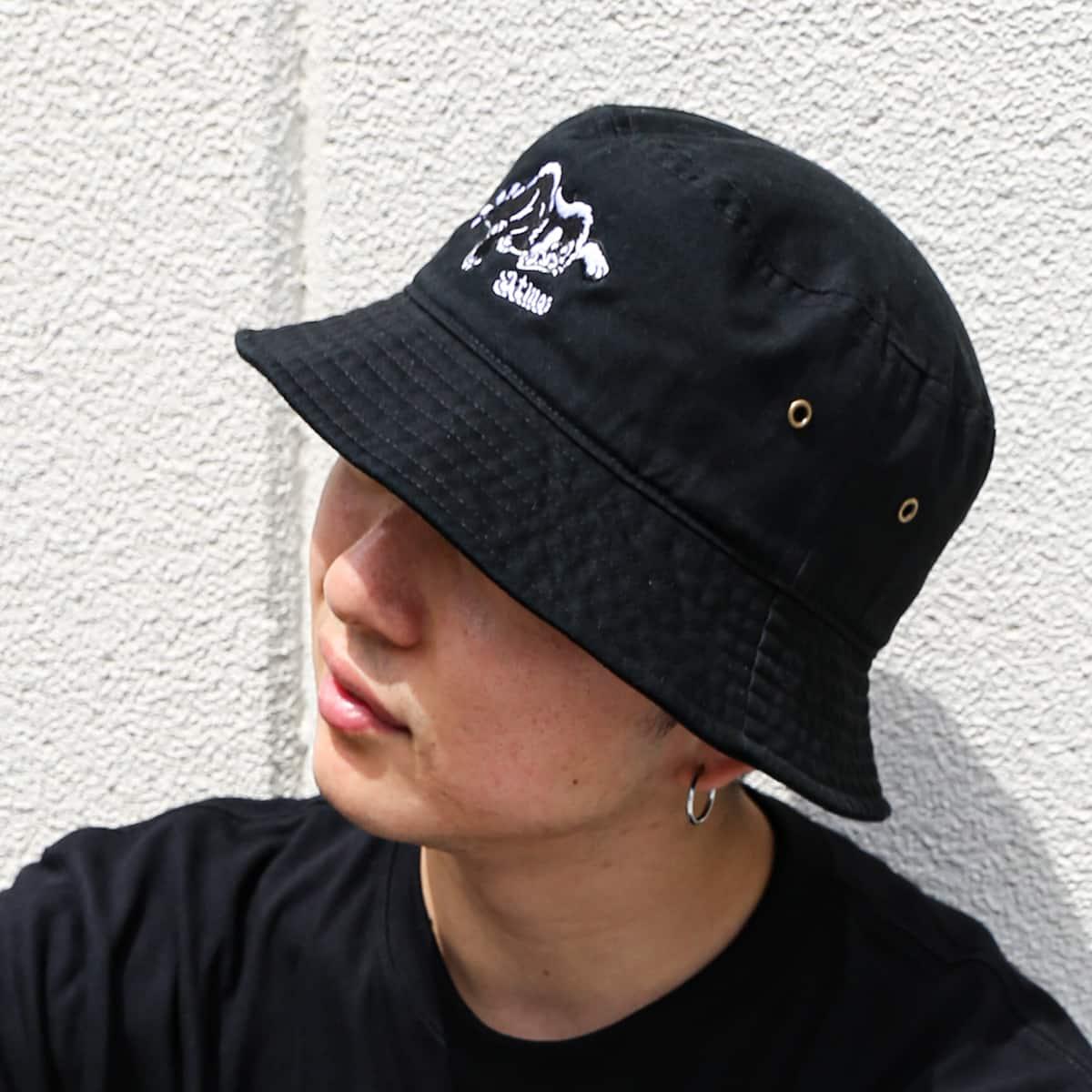atmos x KOUSUKE SHIMIZU HAT BLACK 21SP-I_photo_large