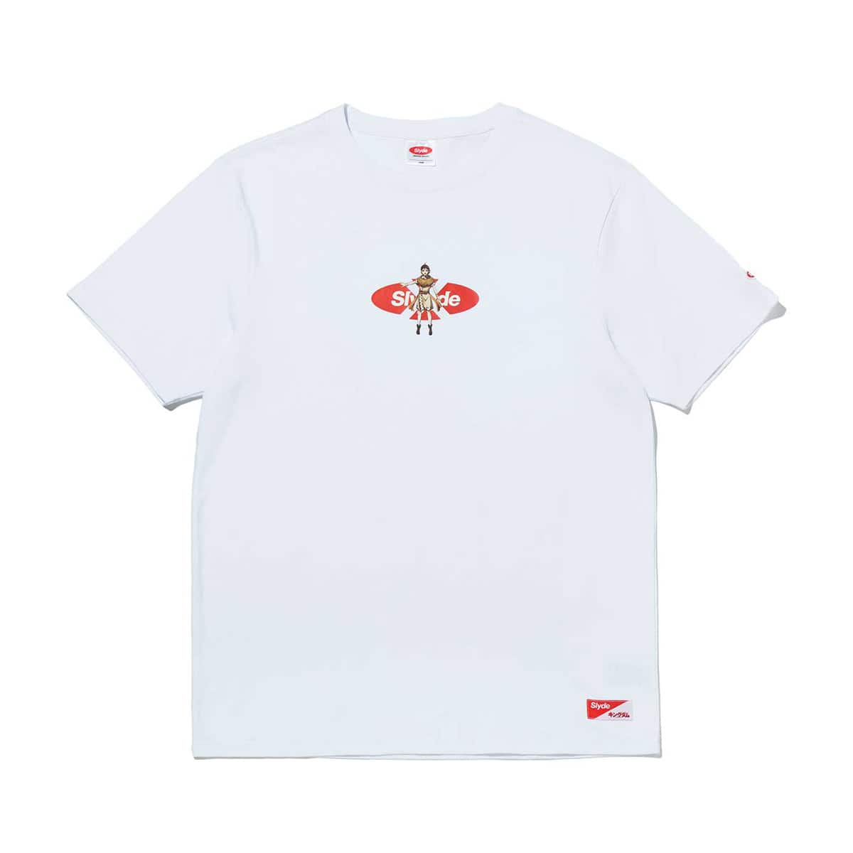 Slyde / KINGDOM TEN LOGO TEE WHITE 20SU-S_photo_large